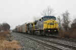 CSX 9000 and train Q217
